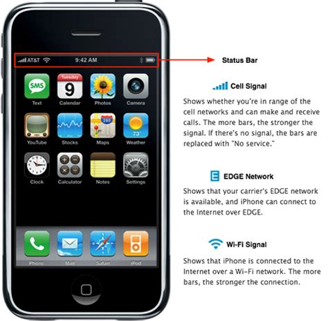 iphone status bar umac university of utah cus iphone ipod touch pre Iphon