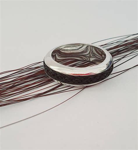 Zirgs - Braided Beveled Rings