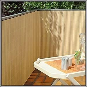 Bambus Auf Balkon : balkon sichtschutz bambus kunststoff balkon house und ~ Michelbontemps.com Haus und Dekorationen