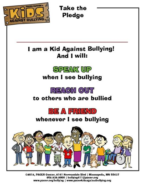 hold  kids  bullying pledge signing event