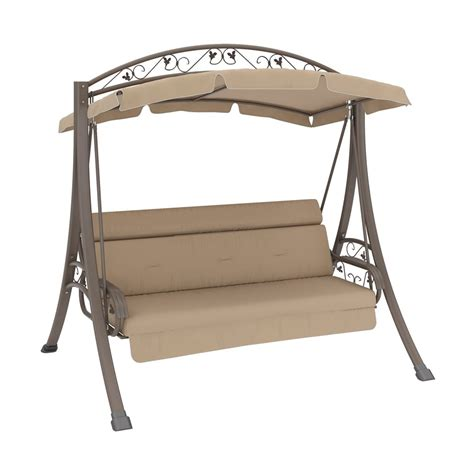 canapé swing corliving pnt 803 s nantucket patio swing with arched