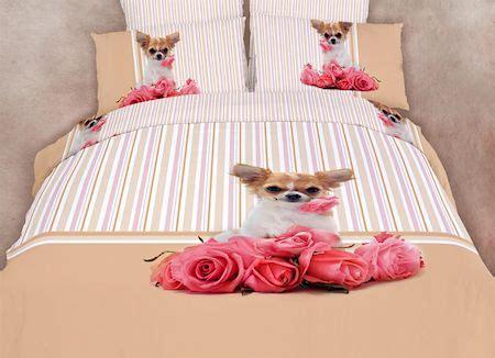 chihuahua dog themed girls bedding twin  queen duvet