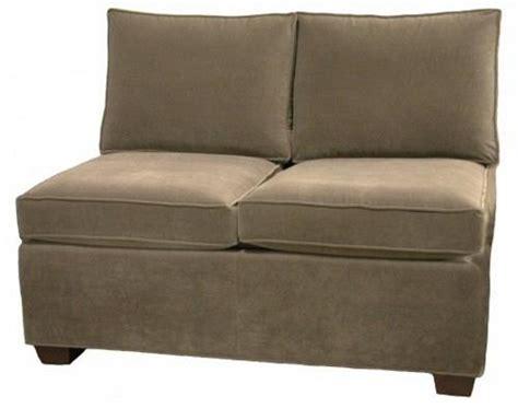 Armless Loveseat Sleeper by Sectional Armless Sleeper Sofa Carolina