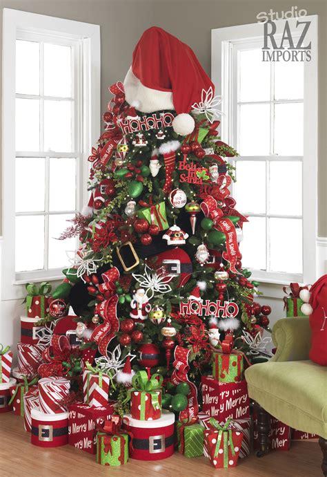 christmas tree ribbon decoration ideas