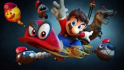 Mario Odyssey Super Resolution Background 1440p 4k