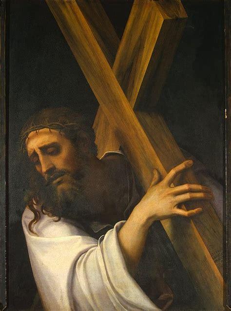 carrying   cross sebastiano luciani hermitage museum