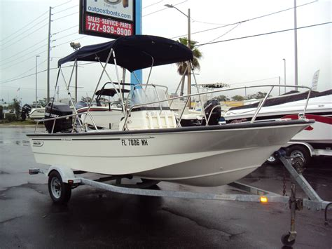 Boston Whaler Jon Boats by Boston Whaler Outrage 18 Used Boat Review Boats
