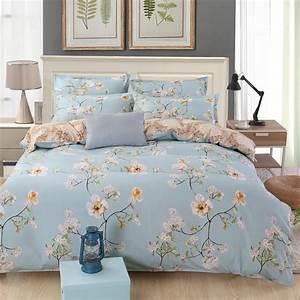 Flower, Bed, Linen, Floral, Bedding, Set, Queen, King, Size, Duvet