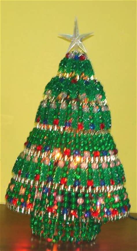 beaded holiday tree kit