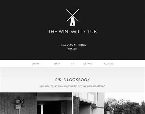 examples  black white grey  web design web