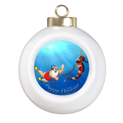 scuba diving christmas ornaments scuba diving buzz