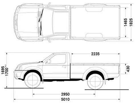 Nissan Frontier Bed Dimensions by Nissan Navara Dimensions Images