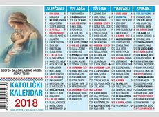 Kalendarić 2018 2 Svetište MB Tekije