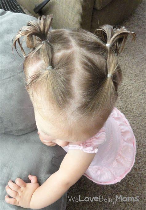 einfach und schnell  baby frisuren