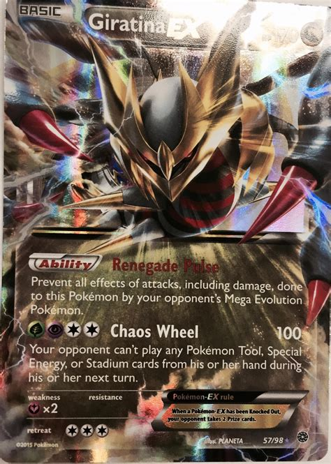 giratina ex vileplume deck the megaton tailwind quot ancient origin set review