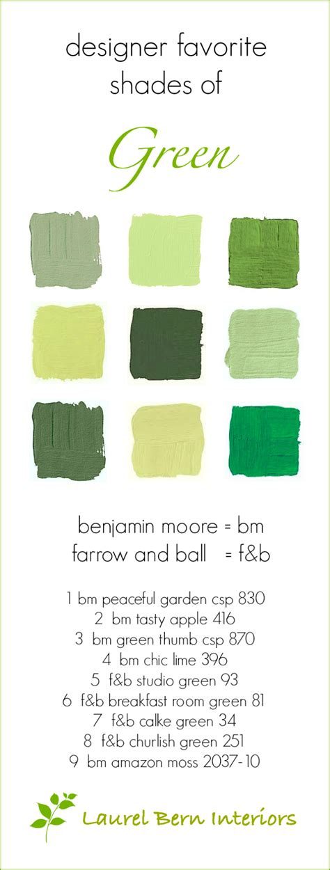 9 fabulous shades of green paint one common mistake