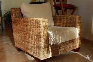 Fauteuil Ikea Rotin : simple canap en rotin ikea with chaise en osier ikea ~ Teatrodelosmanantiales.com Idées de Décoration