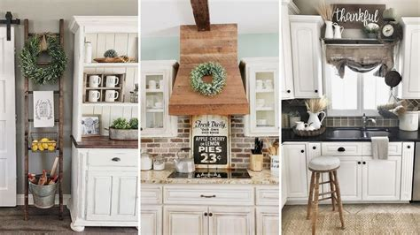 Kitchen Room Decor Ideas by Diy Rustic Shabby Chic Style Kitchen Decor Ideas