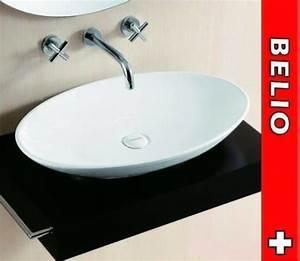 Waschbecken Oval Aufsatz : aufsatz waschbecken lavabo oval 685x435 in tr llikon kaufen bei ~ Orissabook.com Haus und Dekorationen