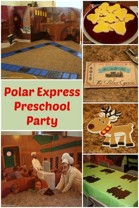 polar express for preschool events to celebrate 655 | Polar Express Party for Preschool eventstocelebrate.net 683x1024