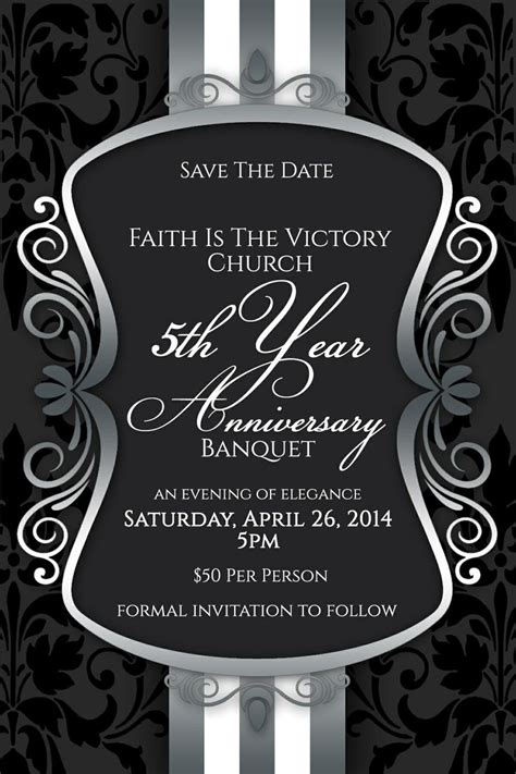 save  date  invite   join faith   victory