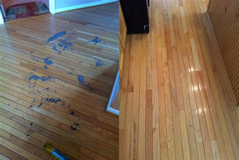 Buffing Hardwood Floors Before And After by A Study Of Hardwood Floor Cleaning Wood Floor