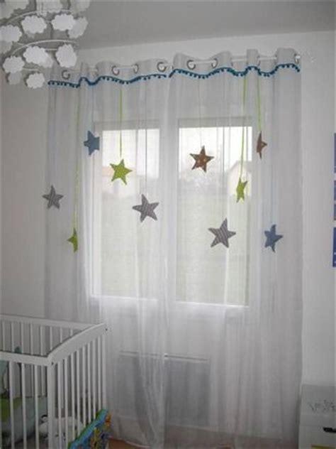commande chambre sur commande rideau enfant voilage étoile tissu et satin