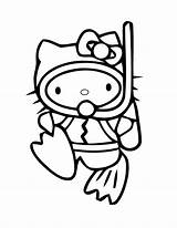Scuba Coloring Diving Drawing Kitty Hello Diver Printable Clipart Draw Colouring Clip Cliparts Cartoon Helmet Divers Template Boy Wonder Sketch sketch template