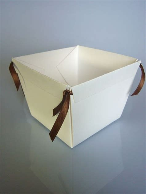 paper basket tutorial  perfect   day