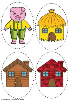 pigs puppets   hands early learning tpt