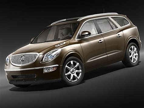 buick enclave  suv offroad car vehicles  models