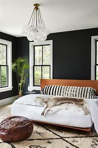 27, Stylish, Bedrooms, With, Black, Walls