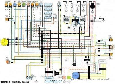 honda cb400 wiring diagram