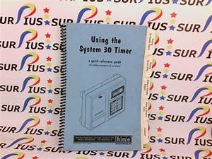 Hme Hm Electronics System 30 Timer Quick Reference Guide