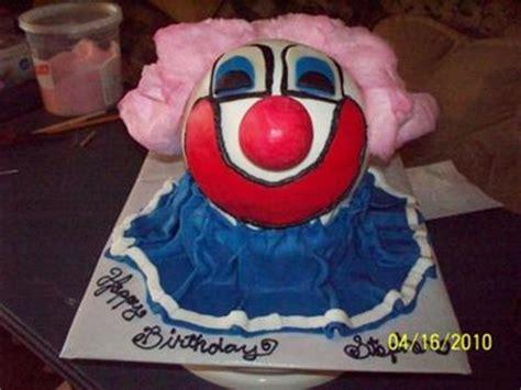 stephens   clown cake