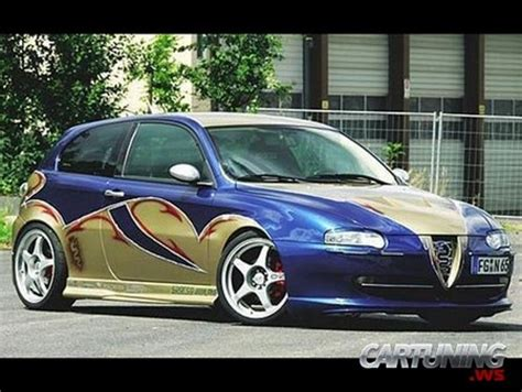 alfa romeo 147 tuning tuning alfa romeo 147 187 cartuning best car tuning photos from all the world