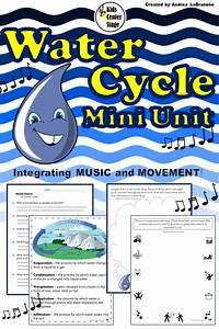 Water Cycle Mini Unit Integrating Water Dance  Music
