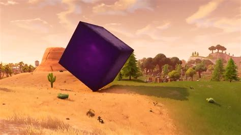 players  figured   fortnite cube mystery