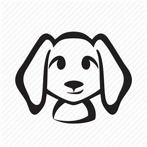 Cute Dog Silhouette at GetDrawings.com | Free for personal ...