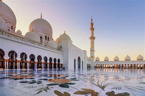 Abu Dhabi Mosque Wallpaper by Masjid Sheikh Zayed Mosque Abu Dhabi United Arab Emirates