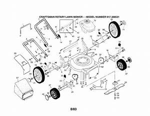Briggs And Stratton Lawn Mower Parts Diagram