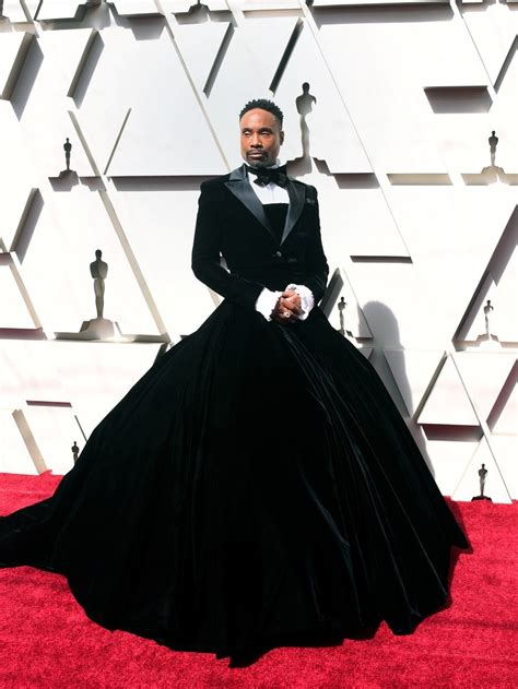 Oscars Fashion Billy Porter Won The Red Carpet