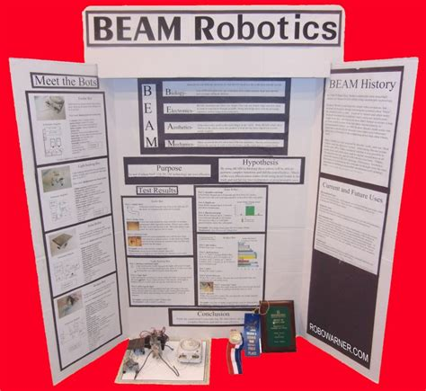 science fair project tags robowarner