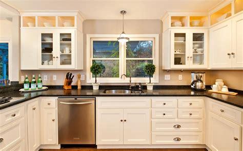 portland kitchen design 24 stylish black and white u shaped kitchen home design 1614