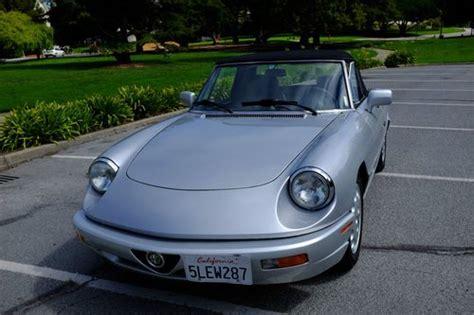 Find Used 1992 Alfa Romeo Spider Veloce In San Francisco