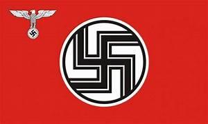 GERMAN REICH STATE FLAG & ENSIGN NAZI 1935-1945 - 5 X 3 FLAG