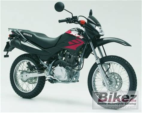 honda xr 125 l 2006 honda xr 125 l specifications and pictures