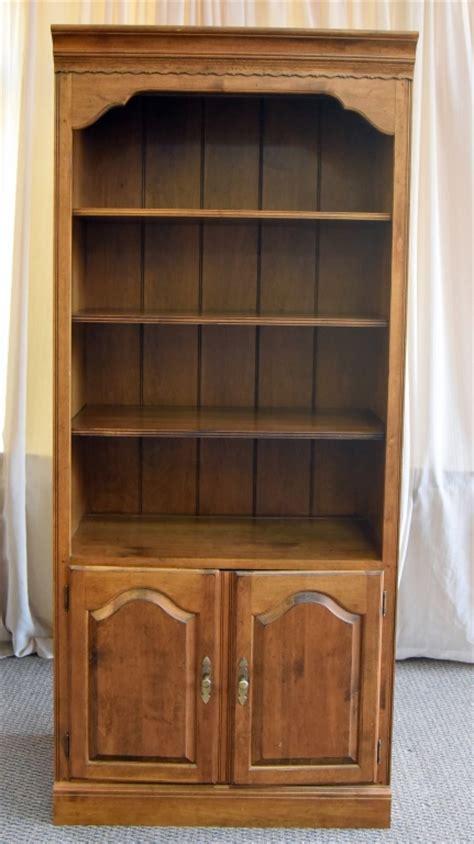 Ethan Allen Bookcase by Ethan Allen Bookcase Storage Unit