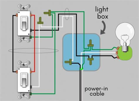 How Wire Way Switch Wiring Diagram Dengarden