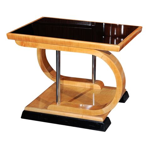 Unusual Art Deco Asymmetrical coffee table   Sold Items Small Tables   Art Deco Collection